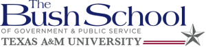 The Bush School of Government & Public Service Texas A&M University logo